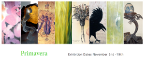 Thumbnail image of the flyer for the Primavera exhibition.